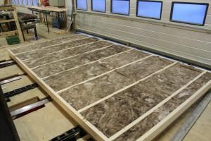 isolera golv i friggebod