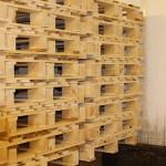 produktion av träpallar